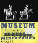 Museum Miniatures 15mm Medieval MD23 French Mounted Archers (x 4)